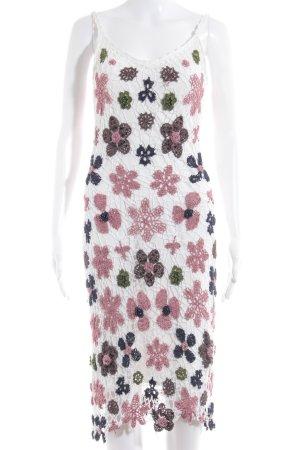 Nicowa Spitzenkleid florales Muster Street-Fashion-Look