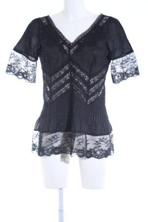 Nicowa T-Shirt schwarz Casual-Look
