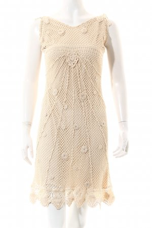 Nicowa Trägerkleid hellbeige Romantik-Look