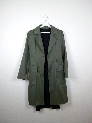 nicowa trenchcoat mantel M 40 designer khaki grün