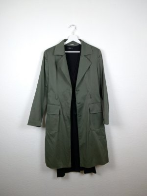 Nicowa Trenchcoat khaki-groen