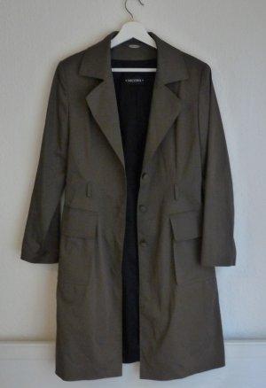 Nicowa Trenchcoat Mantel M 40 Jacke Fashion Blogger Desginer chic Business herbstlich