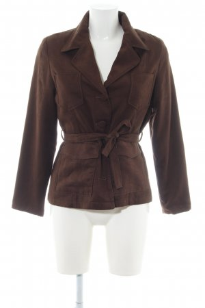 Nicowa Between-Seasons Jacket brown casual look