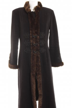 Nicowa Wool Coat multicolored casual look