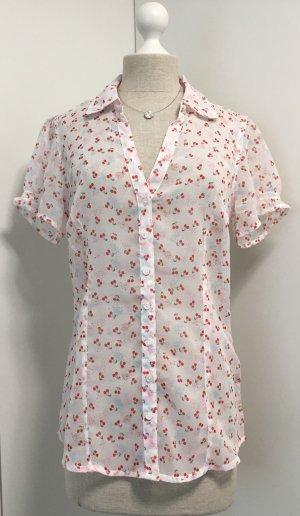 Niedliche Bluse leicht transparent