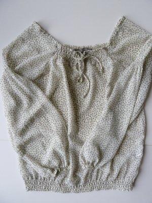 niedliche Bluse mit Blütenprint