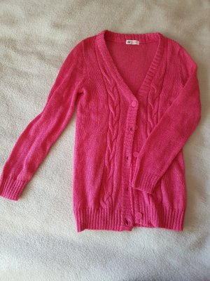 niedliche Strickjacke in lady-pink :)