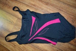 Swimsuit pink-black