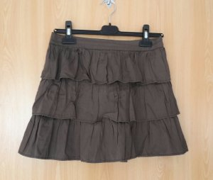 Tally Weijl Broomstick Skirt bronze-colored