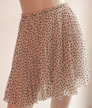 Amisu Mini rok wit-zwart