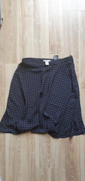 H&M Klokrok donkerblauw Polyester
