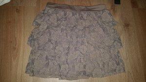 okay Lace Skirt light brown