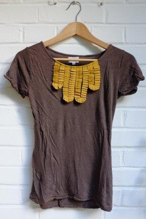 Niedliches Shirt mit Volants, wie neu, Größe 34