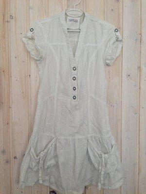 T-shirt jurk wit