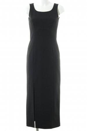 Nienhaus Maxi-jurk zwart zakelijke stijl