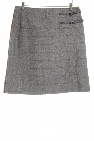 Nienhaus Wool Skirt check pattern classic style