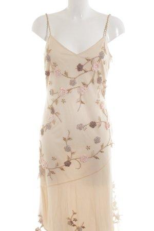 431f024d71fc Niente Abendkleid creme Elegant