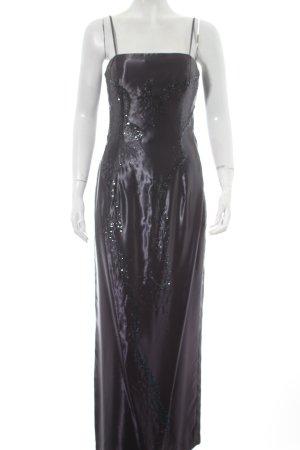 Niente Abendkleid dunkelgrau Elegant