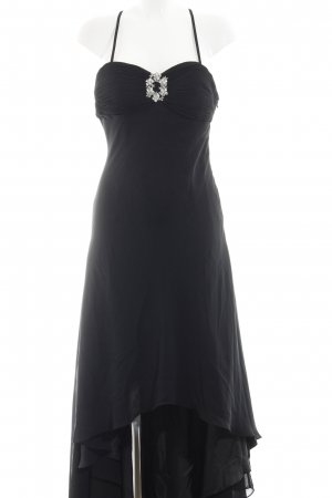 Niente High Low Dress black classic style