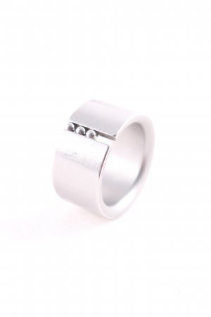 Niessing Anillo color plata estilo minimalista