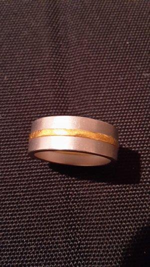 Niessing Wunderbarer Ring Fusion Gold und Edelstahl