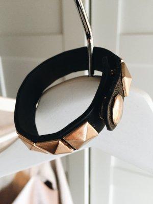Nieten Armband neu Bronze schwarz