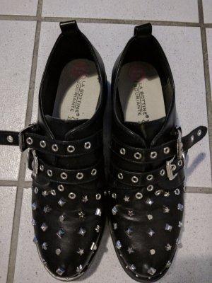 Nieten Schuhe Neuwertig Kunstleder