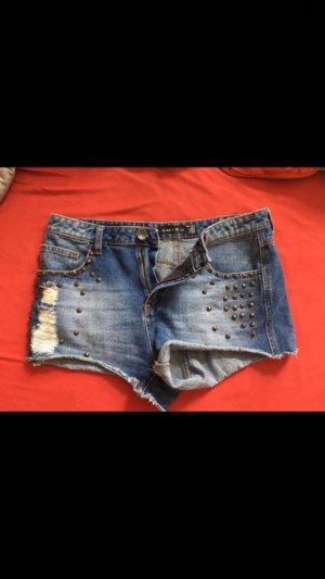 Nieten Shorts von Amisu Gr 40