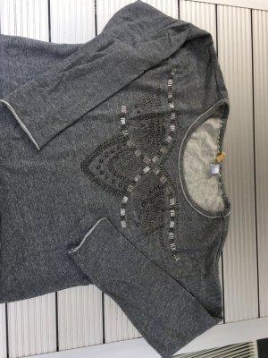 Nieten Sweatshirt H + M Oversize