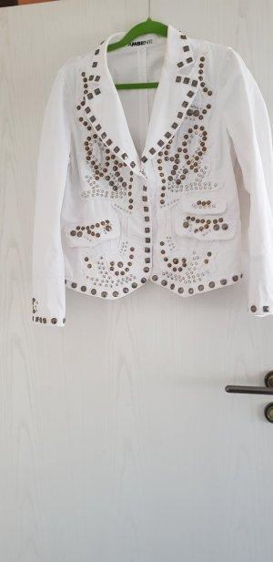 Ambiente Veste en jean blanc