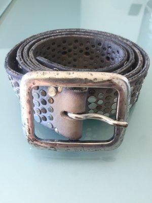 B Belt Studded Belt multicolored leather
