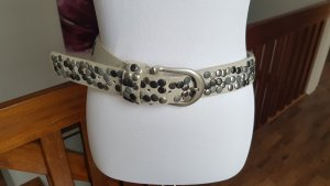 Studded Belt light grey
