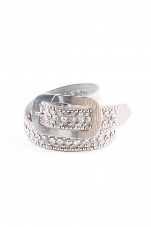 Studded Belt grey brown party style