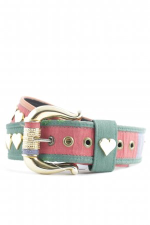 Studded Belt multicolored medieval style