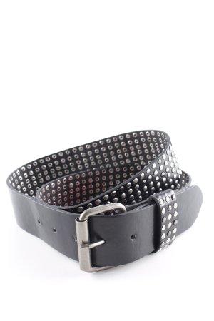 Studded Belt black casual look