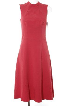 nife Vestido ceñido de tubo rojo oscuro elegante