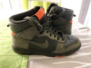Nike Basket montante vert foncé-orange