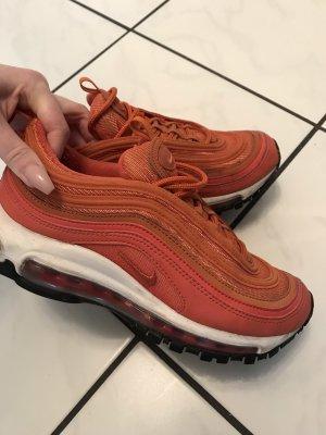 Nike Lace-Up Sneaker orange