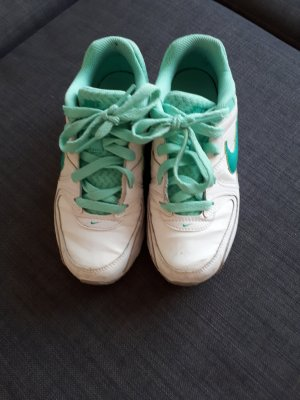 Nike Sneakers wit-turkoois
