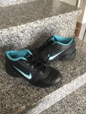 Nike Air Fitness schwarz Türkis