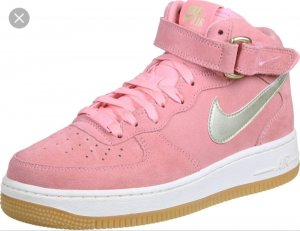 Nike Air Force 1 07 Mid  Pink, Gr. 39