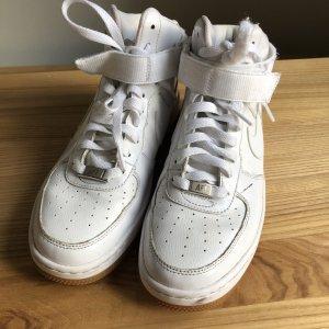 Nike Basket montante blanc cuir