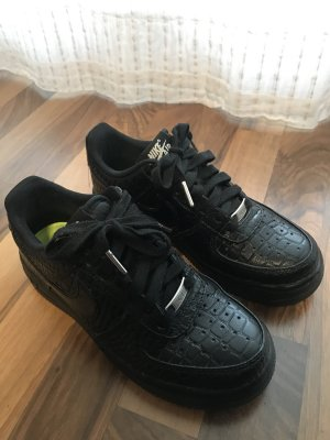 Nike Air Force 1 Black Croc