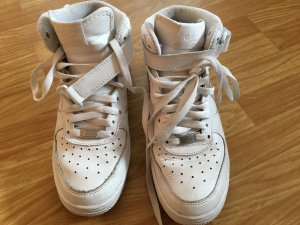 Nike Air Force 1 high, weis, Gr. 38,5