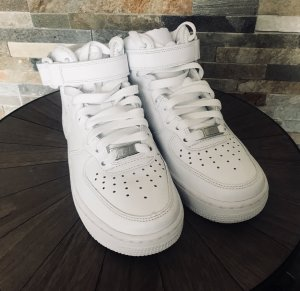 Nike High Top Sneaker white-natural white