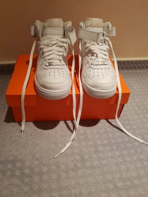 Nike Air Force 1 Mid (GS) weiß in 41