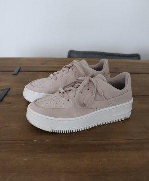 Nike Air Force 1 Sage Low Suede Leder Größe 38 rosa rose