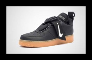 Nike Air Force 1 Utility Schwarz