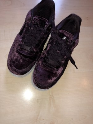 Nike air Force 1 Velvet samt