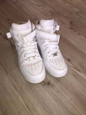 Nike High Top Sneaker white